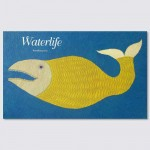 Waterlife - screen printed book