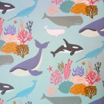 Whales – gift wrap