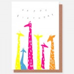Birthday Giraffes