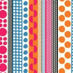 Dots and Lines – gift wrap