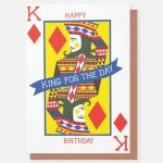 King for a Day- card
