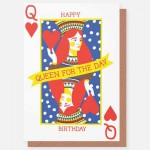 Queen for a Day - card
