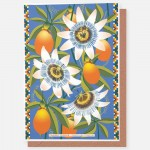 Passion Flower - card