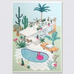 Palm Springs Risograph